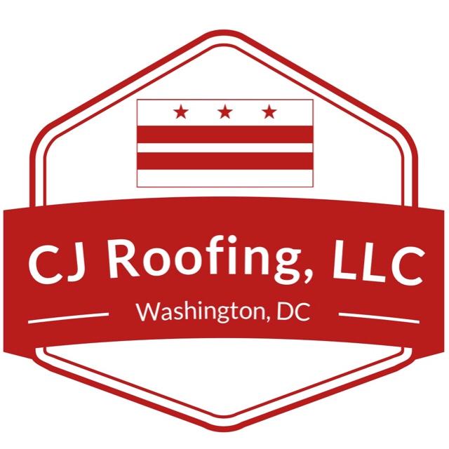 Cj roofing logo