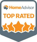 HomeAdvisor top rated badge