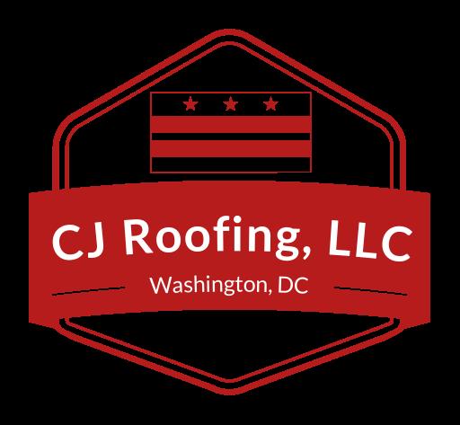 Cj roofing company logo